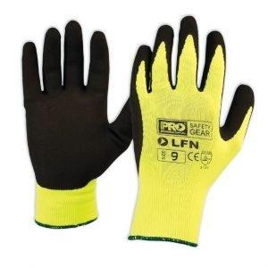 ProSense Latex foam gloves