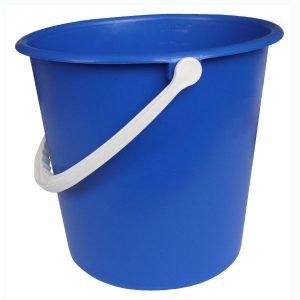 standard 9 litre round mop bucket blue