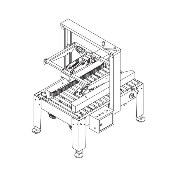 Packline PMCS-100 Technical Drawing