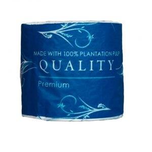 Manningham 2ply toilet tissue 400 sheet